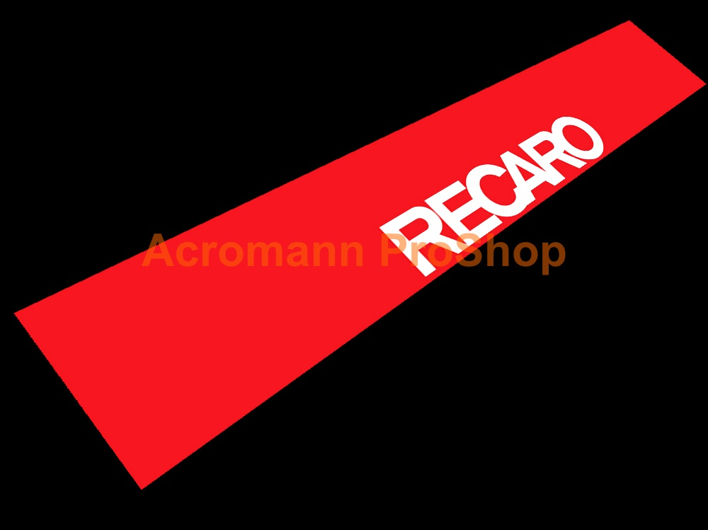 RECARO Windshield Decal (Style#3)